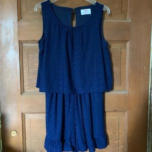 Girls Justice Romper size 14 NWT
